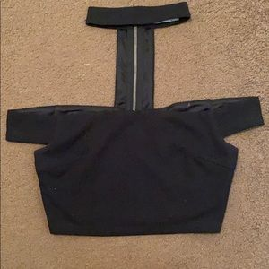 Crop top with collar from LF